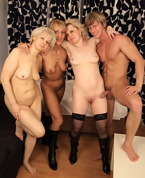 Naked Moms Foursome Porn Pictures