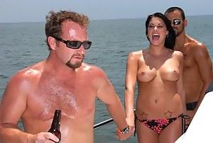 Naked Moms Boat Porn Pictures